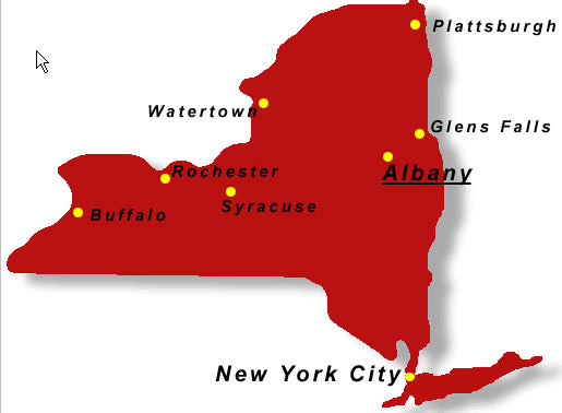 Staat New York City New York City