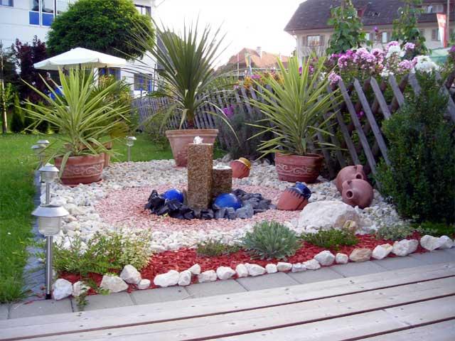 Muster - Steingarten anlegen aufbau ...